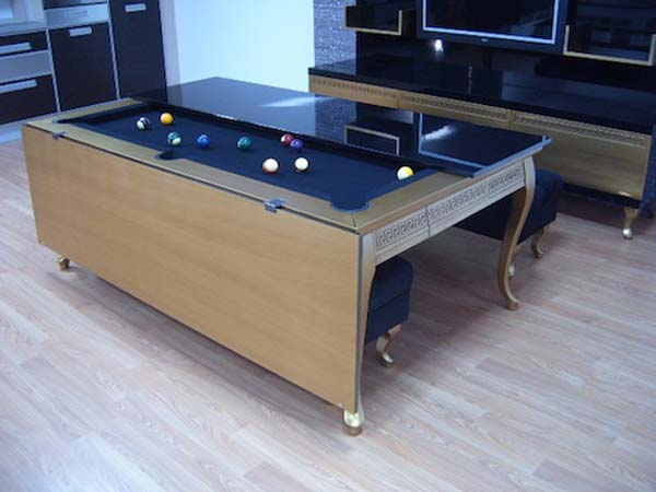 Home Design Central Blog Small Home Furniture Home Design Central Blog - Pool table in small space